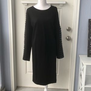 🆕 Long Sleeve Dress w Decorative Sleeves